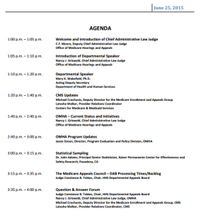 If you haven't already registered, it's probably too late to attend live, but here's the agenda.