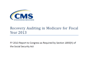 CMS continues to issue misleading and incomplete reports on the true condition of the RAC program. Click for a copy in PDF.