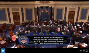 The one amendment that we expected to pass, but simply split the chamber and failed to reach a 3/5 majority.