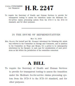 """Rep. Diane Black's bill seeks to create an 18-month transition period with a moratorium of sorts for denials of """"minor"""" errors"""