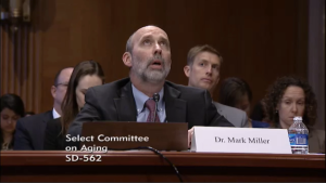 Mr. Miller, trying to recall data he didn't bring to the hearing. Too bad, it might have been interesting to have.
