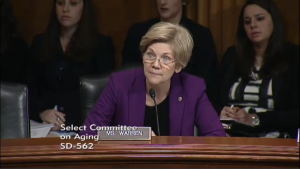 Senator Warren questions sounded a lot like a cross-examination from Law & Order.