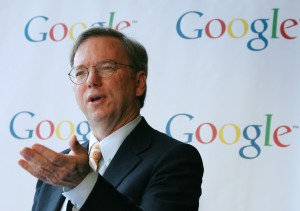 Eric Schmidt, CEO at Google. Guess who his coach is?