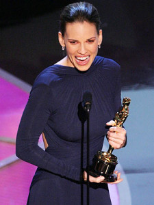 "One more example: Hillary Swank had an acting coach for ""boys Don't Cry"" and ""Million Dollar Baby"" , both of which won her Academy Awards."