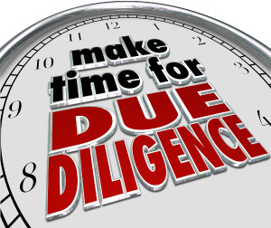 Diligence is not optional.