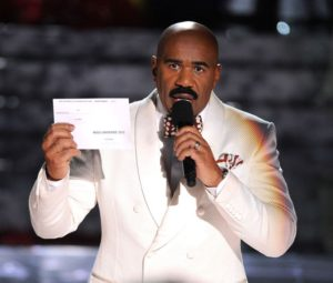 Rumor has it (no reference to Adele's tune) that comedian Steve Harvey has applied for a position at CMS so that he can take the blame for the confusion.