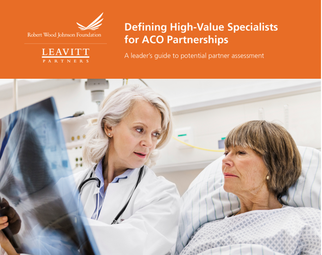 Defining High-Value Specialists for ACO Partnerships